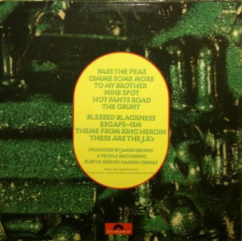 """Special Disc Jockey : Album The J.B.'s """" Pass The Peas """" Polydor Records 2391 034 [ FR ]"""