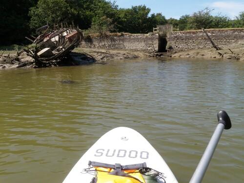 La rivière du Bono en SUP