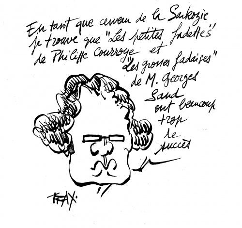 Frédéric Lefebvre, secrétaire d'Etat, précise ses goûts littéraires
