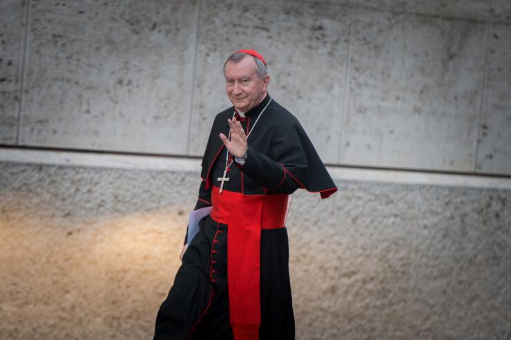 Le cardinal Pietro Parolin - Mazur/catholicnews.org.uk