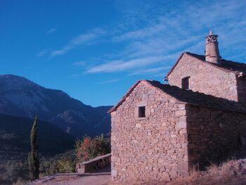 Le gîte, près de San Urbez