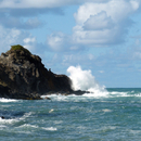 Forte houle à La Pointe de l'Anse l'Etang - Photo : Edgar
