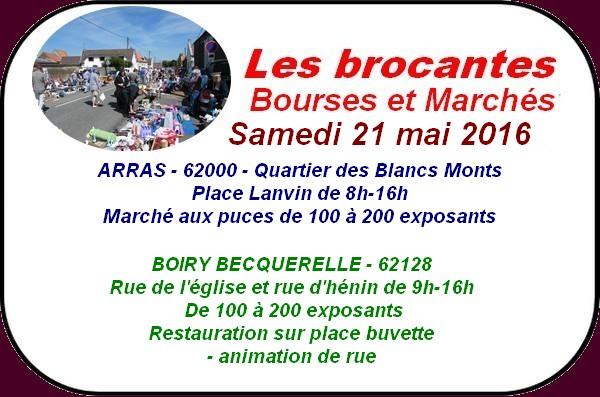 Brocantes et randonnées à Arras et ses environs ce week-end.
