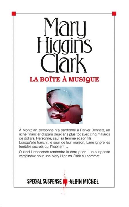 """""""La boîte à musique"""" de Mary Higgins Clark"""
