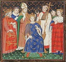 220px-The coronation of Philippe II Auguste in the presence