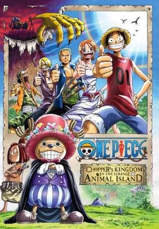 One Piece Film 3 VF Le Royaume de Chopper, l'île des bêtes étranges