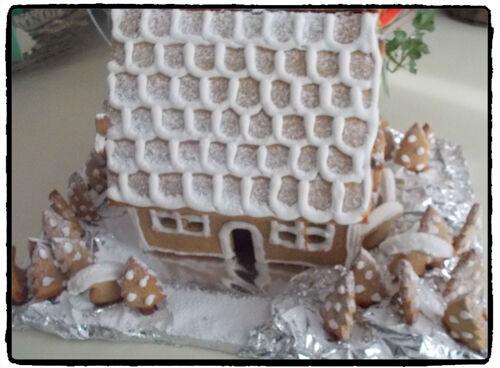 Notre maison en pain d'épices