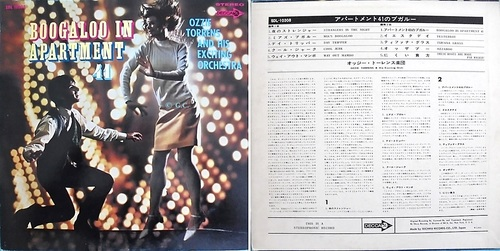Ozzie Torrens - Boogaloo In Apartment 41 - Japanese Edition - Decca 10308