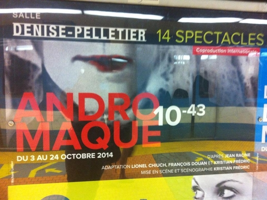 Affiche metro montreal