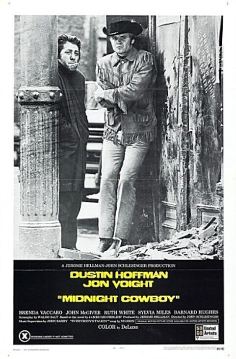 MIDNIGHT COWBOY BOX OFFICE USA 1969