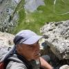Remontée vers le sommet du pic Mourgat