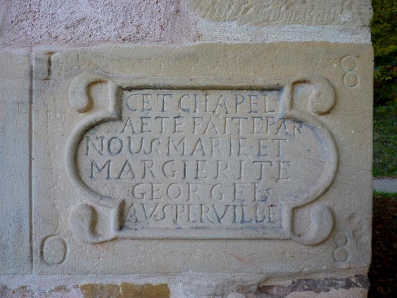 Chapelle de L'Hor à Métairies Saint-Quirin et Sainte-Claire Vasperviller