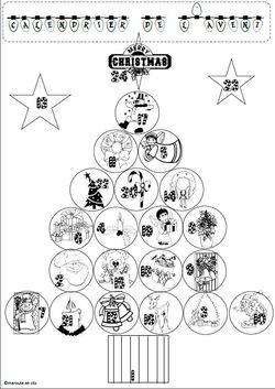 Noël: Décorer la classe