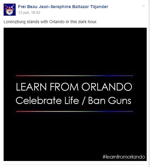 Orlando attack : micronation's reactions.