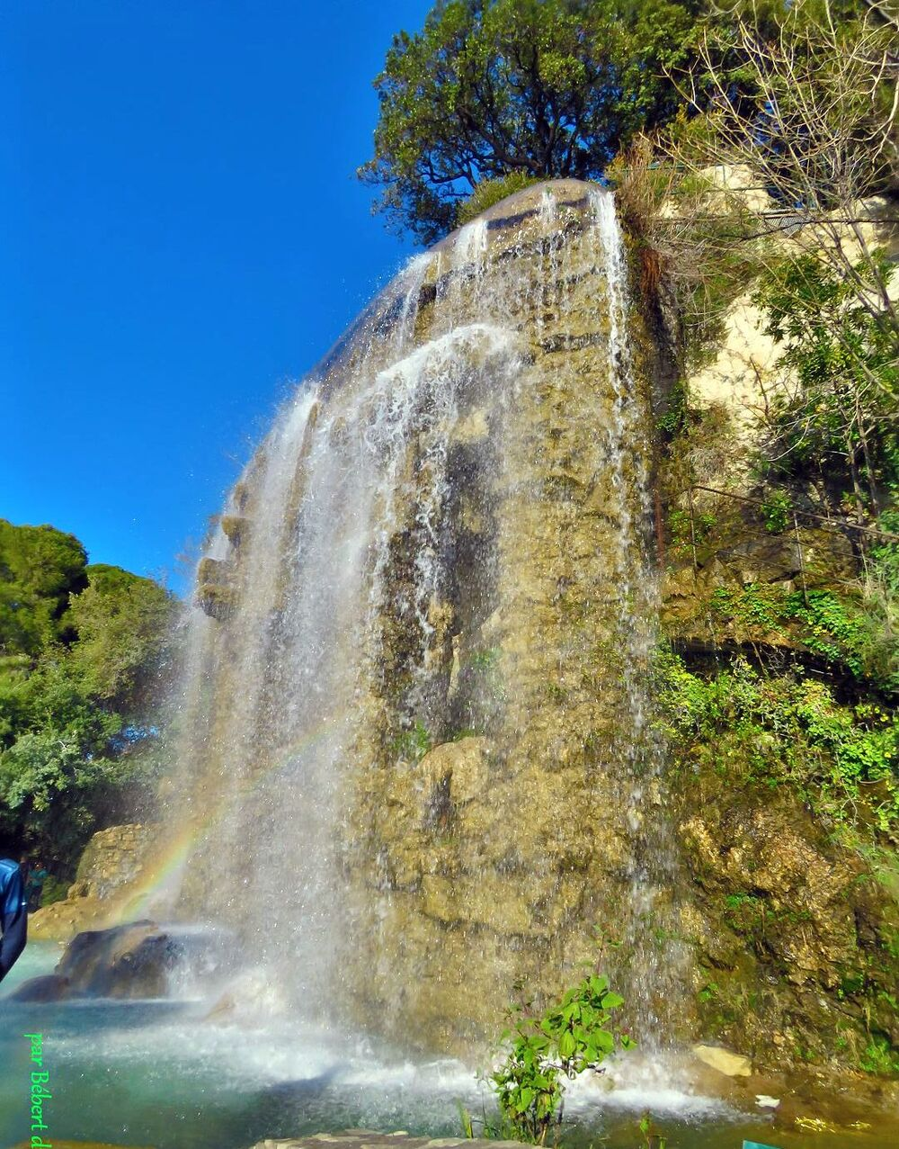 une cascade à Nice