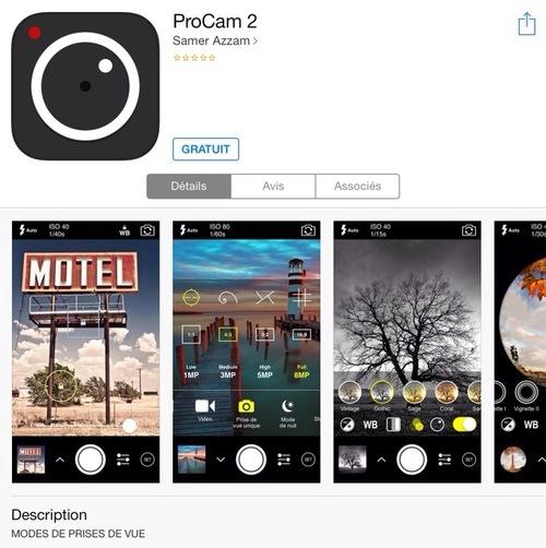 [appli] ProCam 2
