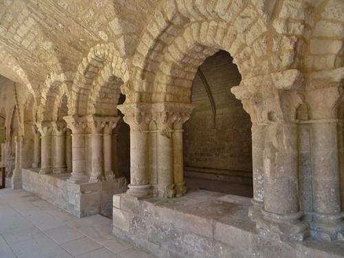 L'abbaye de Nieul sur Autise en Vendée (photos)