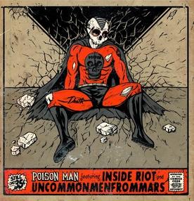 Uncos - Inside Riot - Split 45 tours
