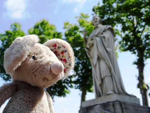 Zournée çez le cardinal et à l'Abbaye