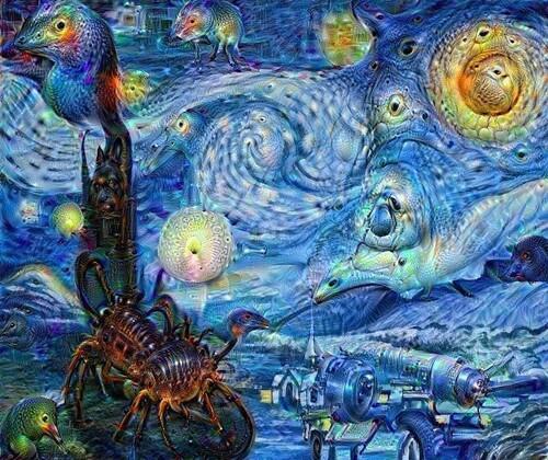 Van Gogh, Nuit Etoilée