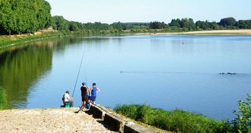 La Loire à Châteauneuf sur Loire