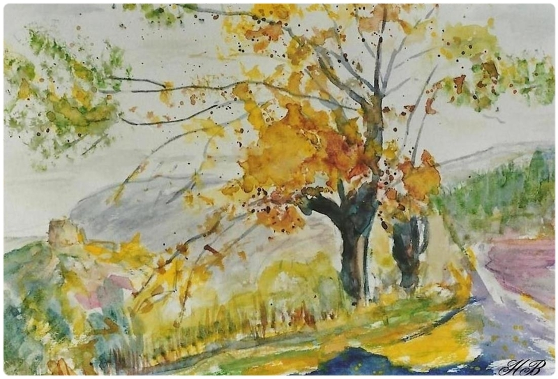 L'automne dans son regard ...