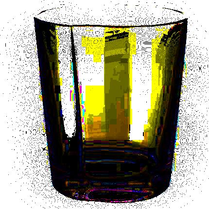 verre et objet en verre