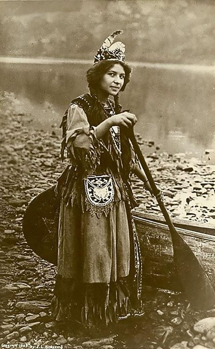Native American Girl,  1870-1900