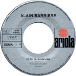 Alain Barriere : Si tu te souviens - Nobody but you - 1976 - Dédié a Julia 33