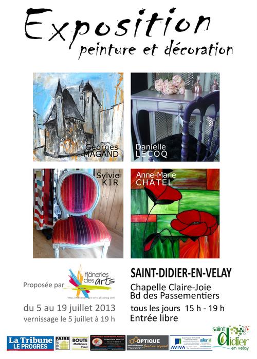 Exposition Peinture et Décoration