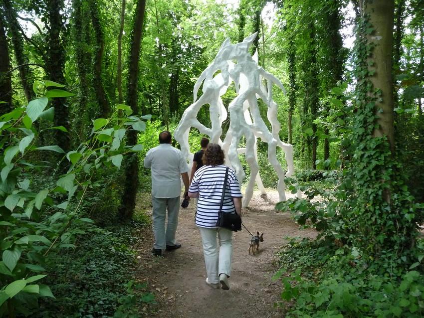 Le Jardin des Plantes d'Amiens, fin juillet.