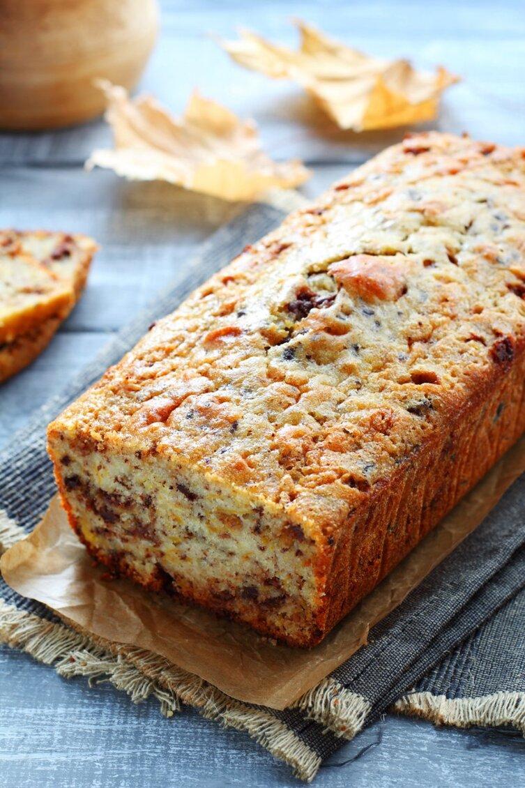Cake potiron lardon