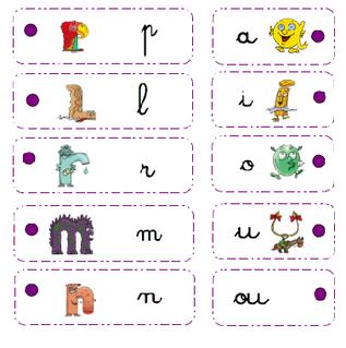 Atelier lecture de syllabe
