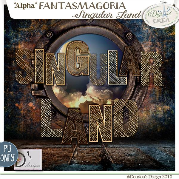 FANTASMAGORIA - SINGULAR LAND - STEAMPUNK BY DOUDOU'S DESIGN