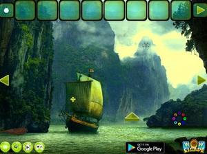 Jouer à Pirates island Thanksgiving escape
