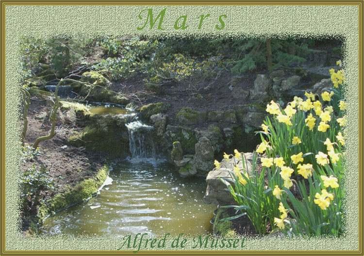 """"""" Mars """" poème d'Alfred de Musset"""