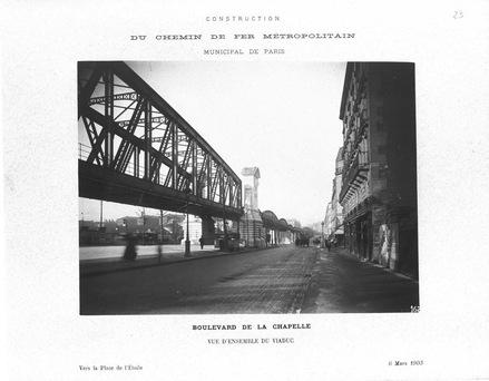 le pont Saint-Ange le 6 mars 1903