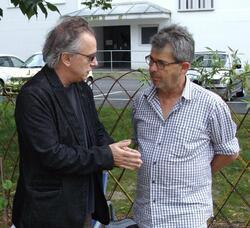 Peio Serbielle et Alain Darroze
