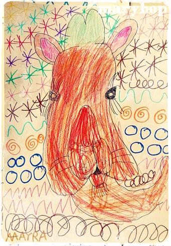 Portrait dromadaire