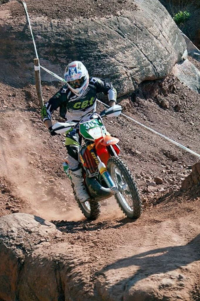 Cabasse -  Enduro de Championnat de France de moto ancienne 2014