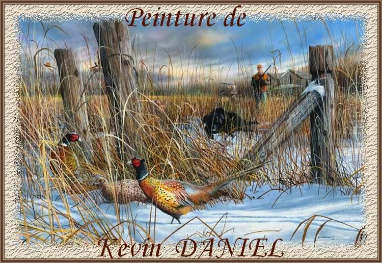 Peintures de : Kevin DANIEL
