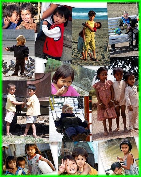 Aujourd'hui 20 Novembre 2013: Une journée dans le monde pour les droits de l'enfant ,l'homme de demain