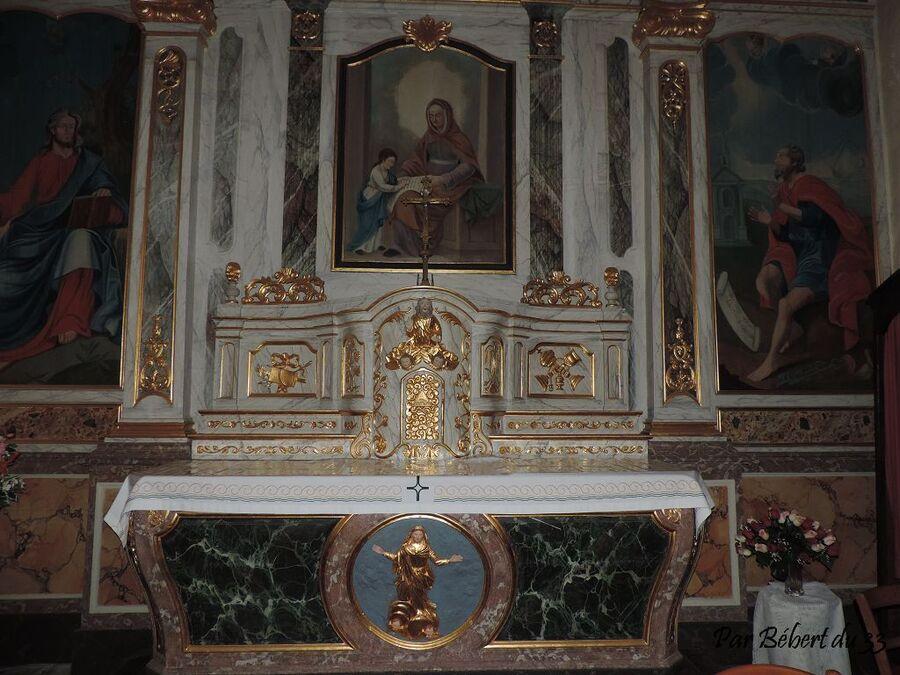 Cherrueix dept 35 (2) l'église