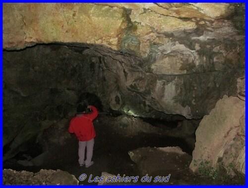 Var, la grotte de Manon