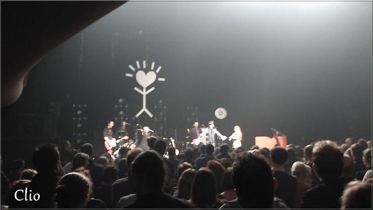 Mathias Malzieu et Dionysos en concert à Roubaix ( Au Colisée)