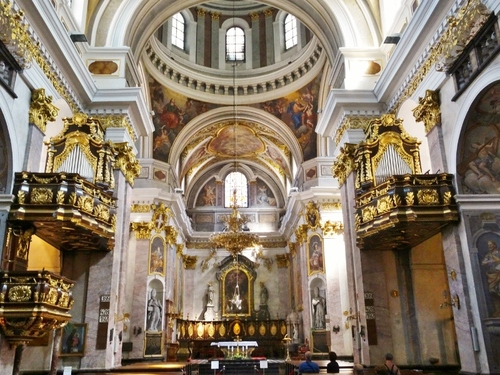 La cathédrale de Ljubljana en Slovénie (photos