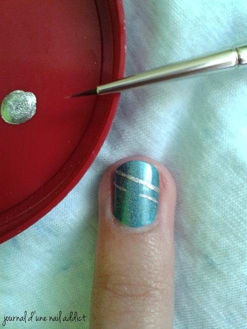 tuto nail art jewel journal d'une nail addict