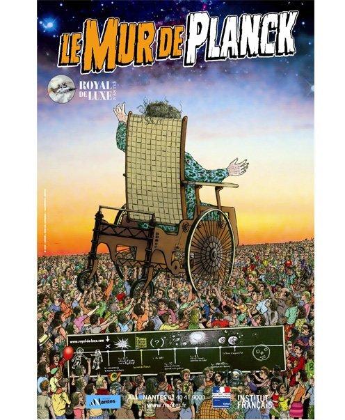 Le mur de Planck poster news