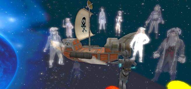Bateau Pirate Hanté