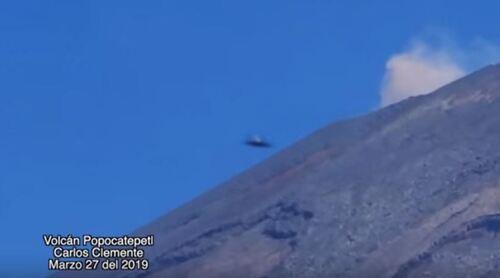 Les ovnis du Popocatepetl